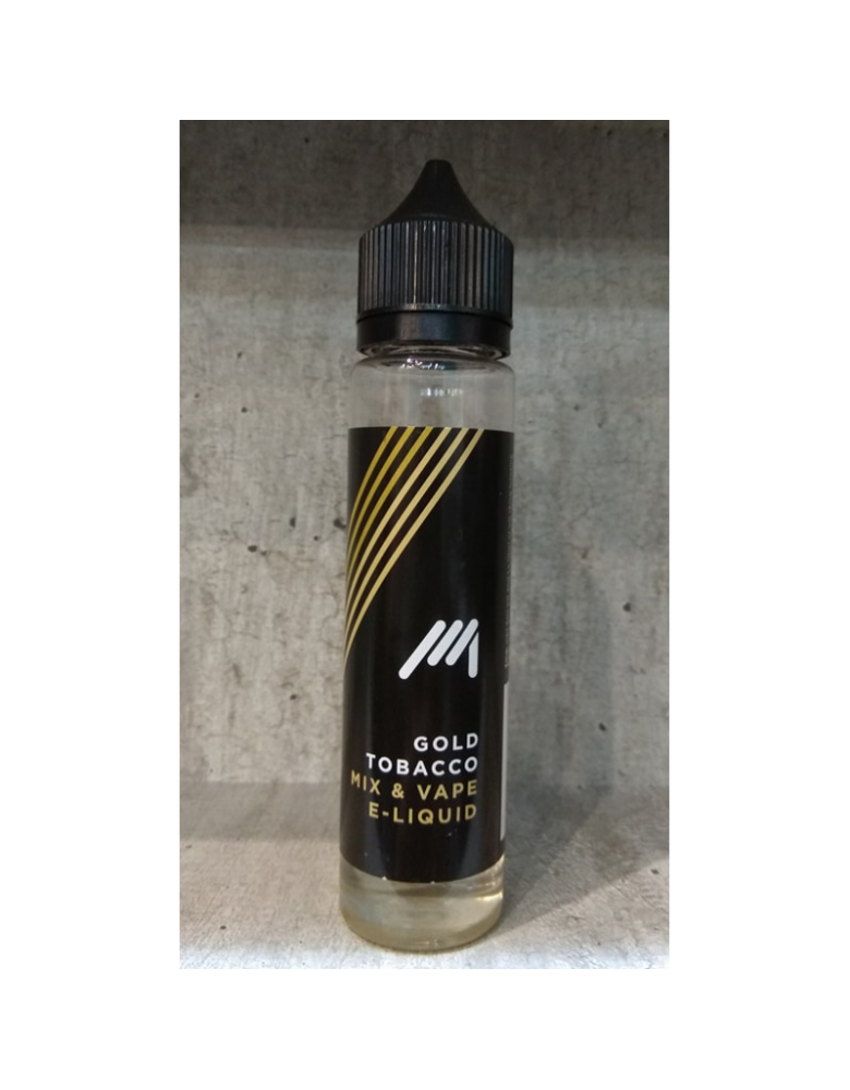 Gold tobacco  27ml/70ml bottle